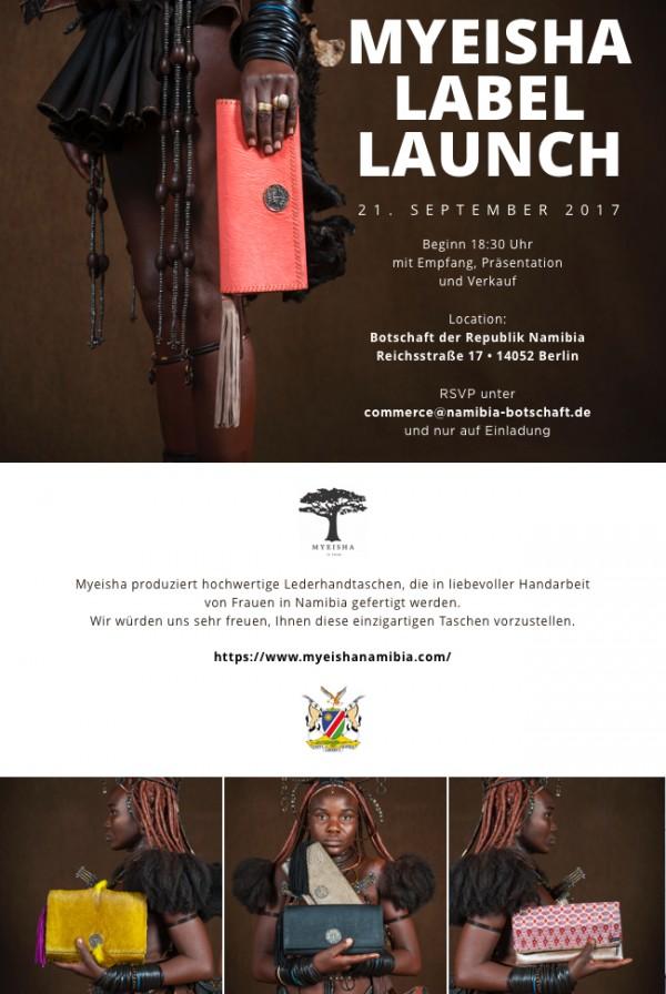 Myeisha Label Launch